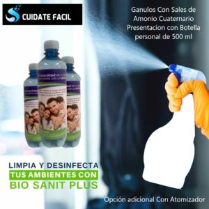 SALES DE AMONIO CUATERNARIO PARA BOTELLA  DE 500 ML