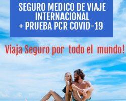 SEGURO DE VIAJE + PCR
